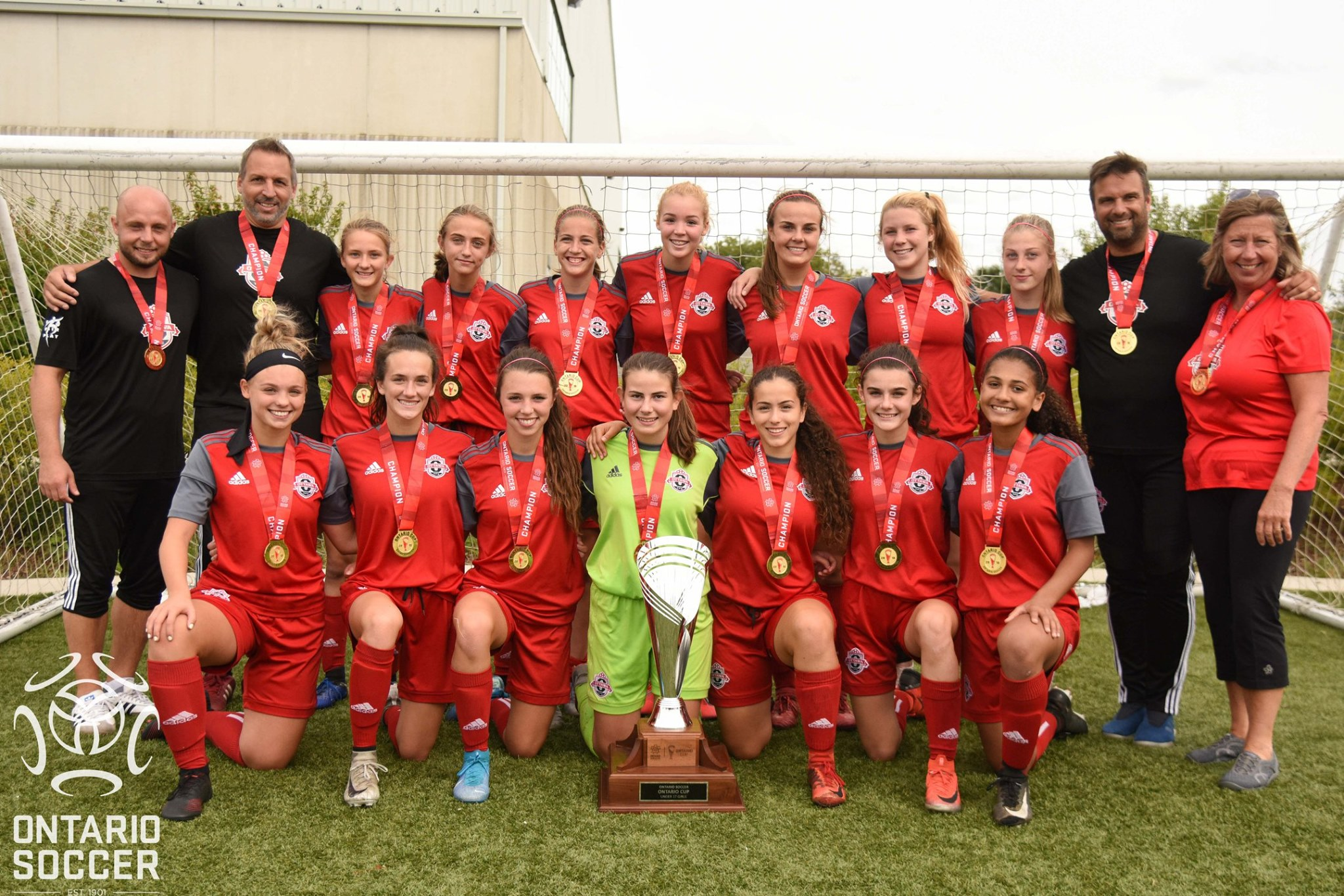 OttawaTFC U17 Girls are off to NATIONALS!