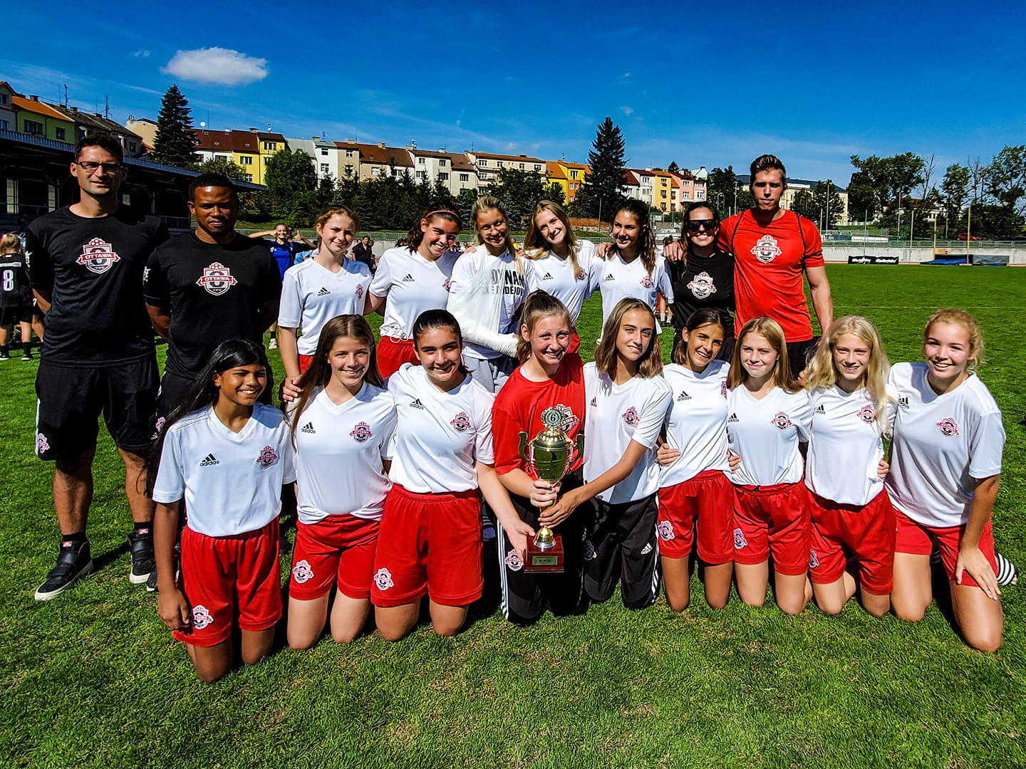 2005 Girls home from Pelimatkat Cup in the Czech Republic