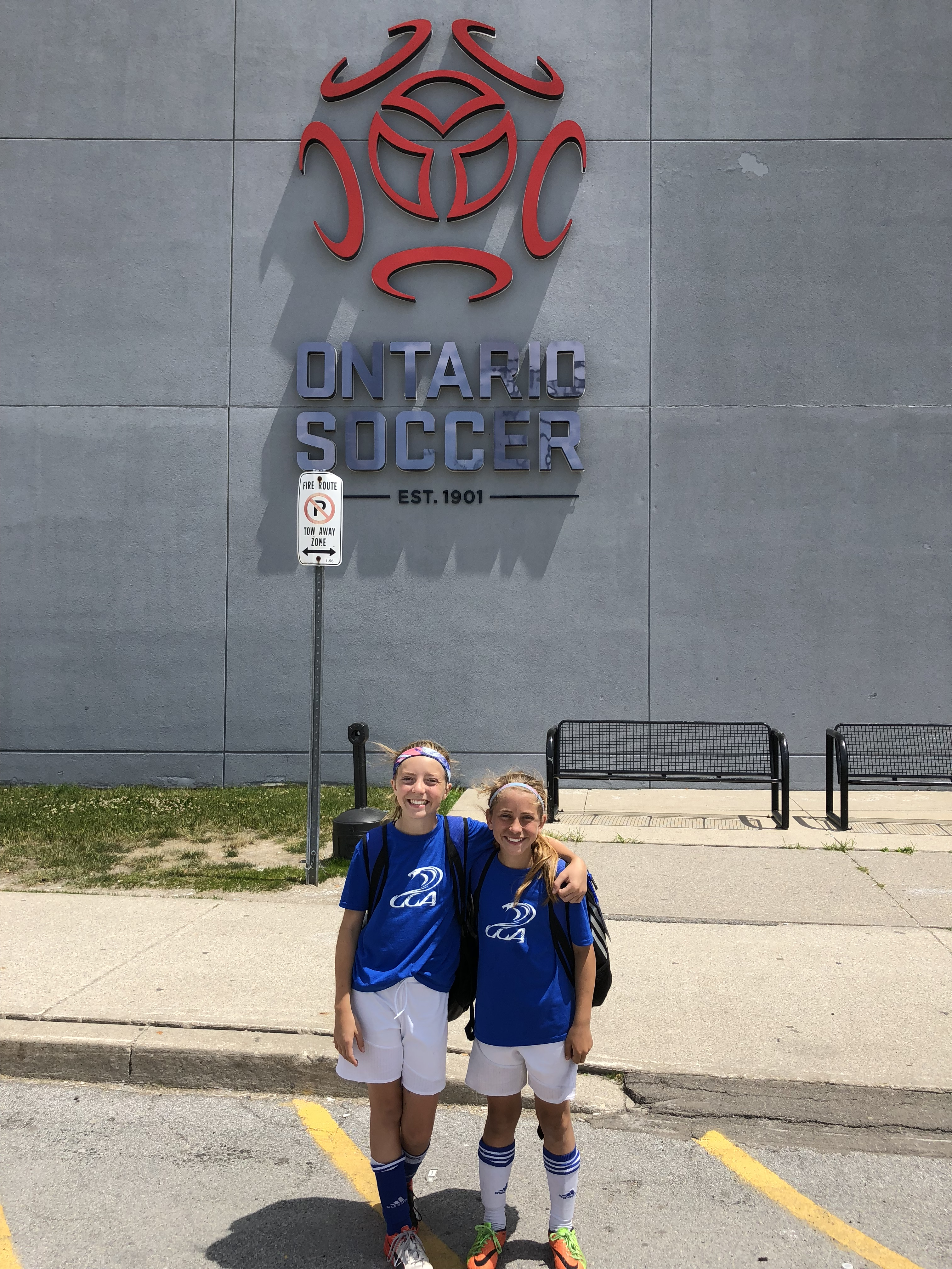 Two Academy players selected to represent Canada at the Danone Cup in Spain!