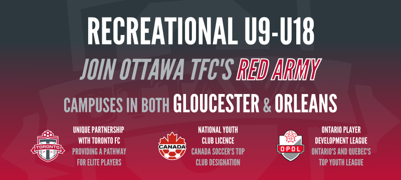 Recreational Programs U9-U18